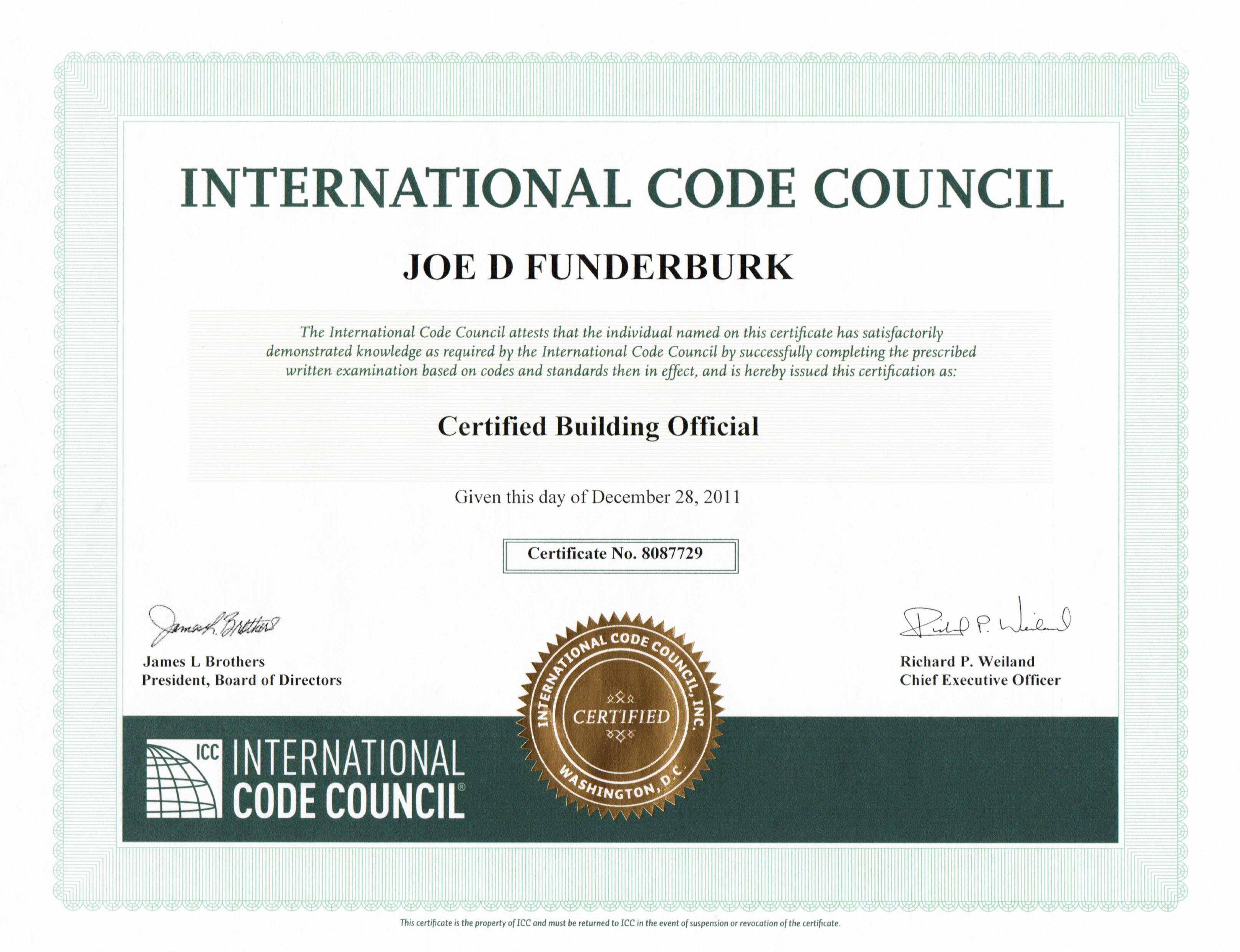 This is the page icc building official certification xflitez Gallery